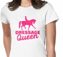 Dressage queen Womens Fitted T-Shirt
