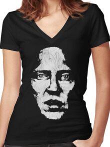 Christopher Walken Women's Fitted V-Neck T-Shirt