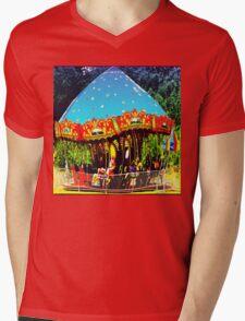 Merry-Go-Round Motion And Rhythm Mens V-Neck T-Shirt