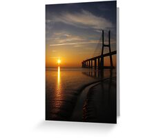 Sunrise V Greeting Card