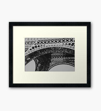 Eiffels Arches Framed Print