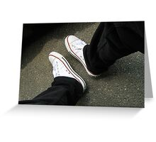 Sneakers and Shoes Greeting Card