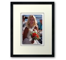 ♥♥Greetings from the MED♥♥               (See Large) Framed Print