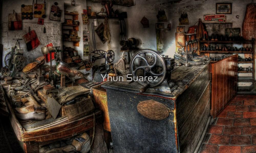 Cobbler's Shop by Yhun Suarez
