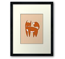 Mister Fox Framed Print