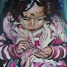 Portrait of Little Ellie by wendie patch