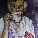 Cuppa with Aunty Al by wendie patch