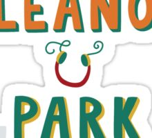 Eleanor and Park by Rainbow Rowell Book Cover Sticker