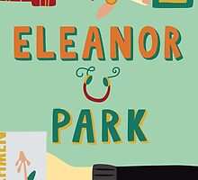 Eleanor and Park by Rainbow Rowell Book Cover by DesignsByAND