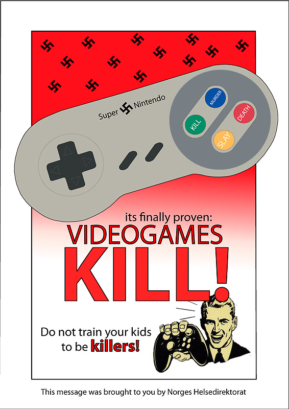 Videogames propaganda by digitalinsanity