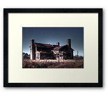 Bates/Geer House Framed Print