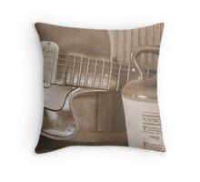 Musical Pieces Throw Pillow