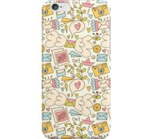Let's talk about happy! iPhone Case/Skin