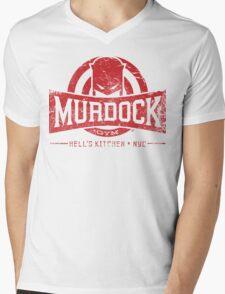 Murdock Gym (Vintage) Mens V-Neck T-Shirt