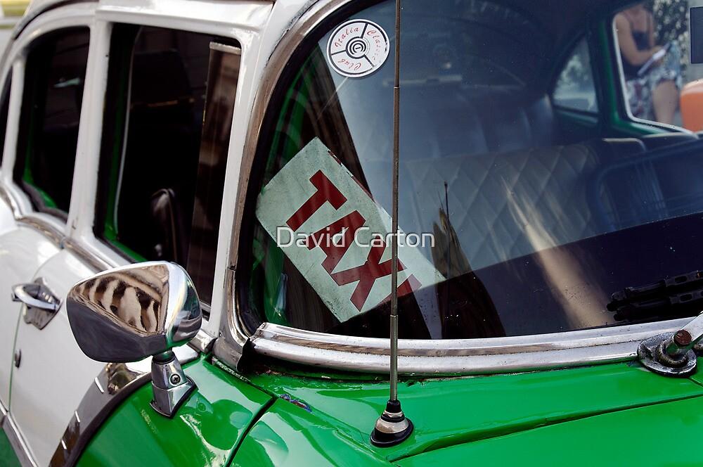 Cuban taxi, Havana, Cuba by buttonpresser