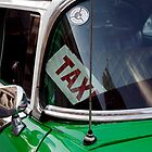 Cuban taxi, Havana, Cuba by buttonpresser