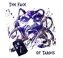 The Face Of Tardis by VLRDesign