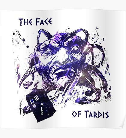 The Face Of Tardis Poster