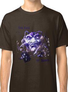 The Face Of Tardis Classic T-Shirt