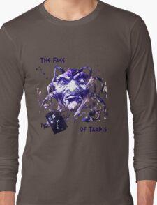 The Face Of Tardis Long Sleeve T-Shirt
