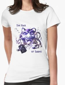 The Face Of Tardis Womens Fitted T-Shirt