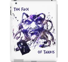 The Face Of Tardis iPad Case/Skin