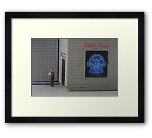 It's doubtful that Elvin will ever become a lawyer….he just can't seem to pass the bar. Framed Print