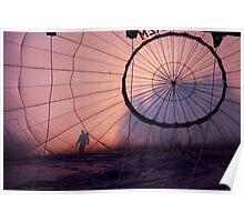 ....hot-air ballon Poster