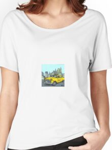 Big Yellow Taxi Women's Relaxed Fit T-Shirt