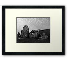 West Kennet Long Barrow #2 Framed Print