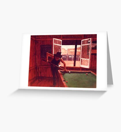 Plays as good as he rides! Greeting Card