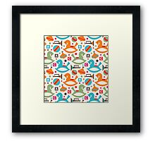 Joy of childhood Framed Print