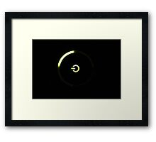 Power Ring Framed Print