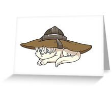 The Catquisition - Cole Greeting Card