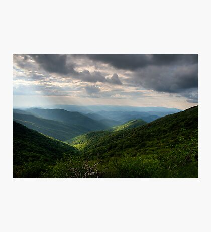 Blue Ridge Parkway~Craggy Gardens Photographic Print
