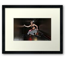 Don't stand on ceremony Framed Print