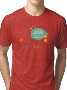 Autumn mix Tri-blend T-Shirt