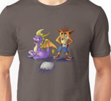 Spyro and Crash - PS1 classics Unisex T-Shirt