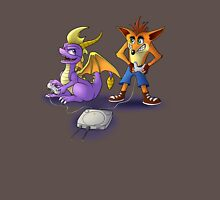 Spyro and Crash - PS1 classics T-Shirt