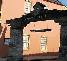 Aviles Street in Saint Augustine, Florida by ValeriesGallery