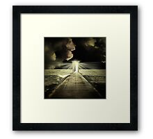 The Great Unknown Framed Print