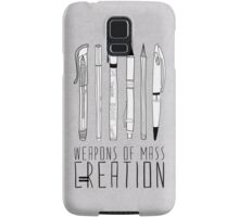 Weapons Of Mass Creation Samsung Galaxy Case/Skin