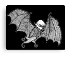 Vampire Bat Canvas Print