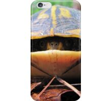 Turtle Sneaks a Peek iPhone Case/Skin