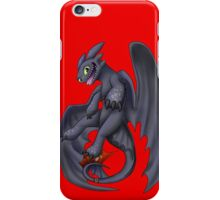 Playful Toothless iPhone Case/Skin