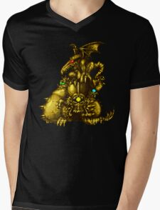Super Metroid - Boss Statue Mens V-Neck T-Shirt