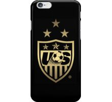 Big New USWNT Black & Gold Logo iPhone Case/Skin