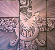 Ahura Mazda by signaturelaurel