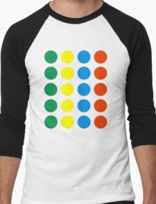 Twister Men's Baseball ¾ T-Shirt