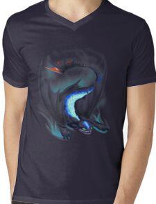 Graceful Alpha Mens V-Neck T-Shirt